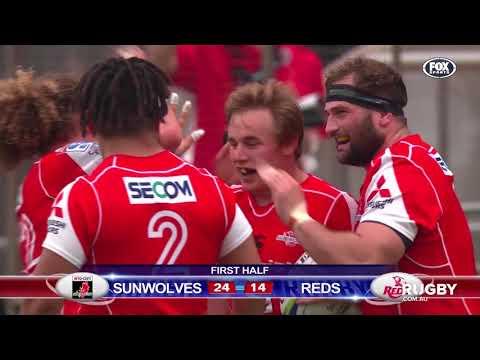 2018 Super Rugby Round 13: Sunwolves vs Reds