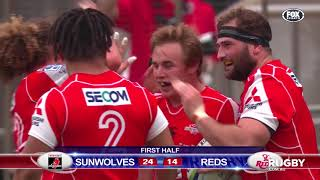 2018 Super Rugby Round 13: Sunwolves vs Reds