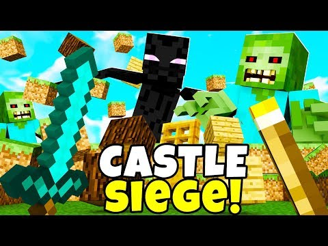 NEW *CASTLE SIEGE GAMEMODE* - Minecraft Modded Minigame