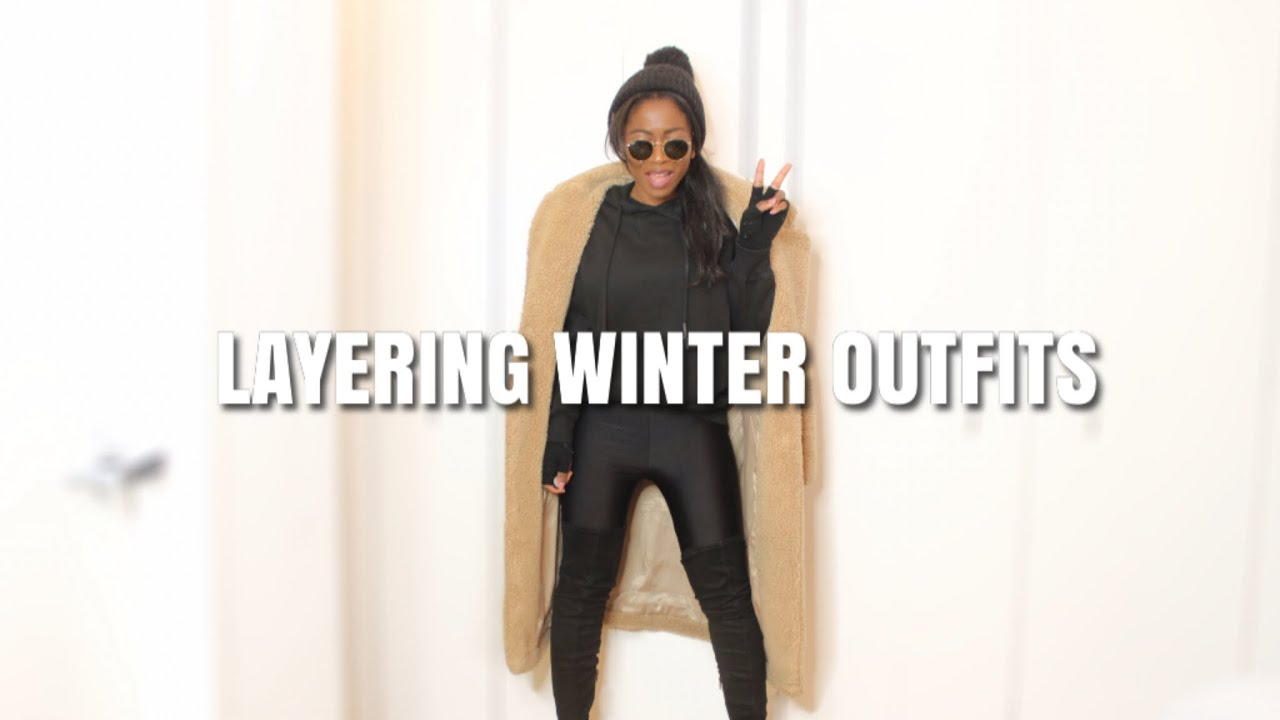 [VIDEO] - Layering Winter Outfits| Look Cute When It's Cold! 8