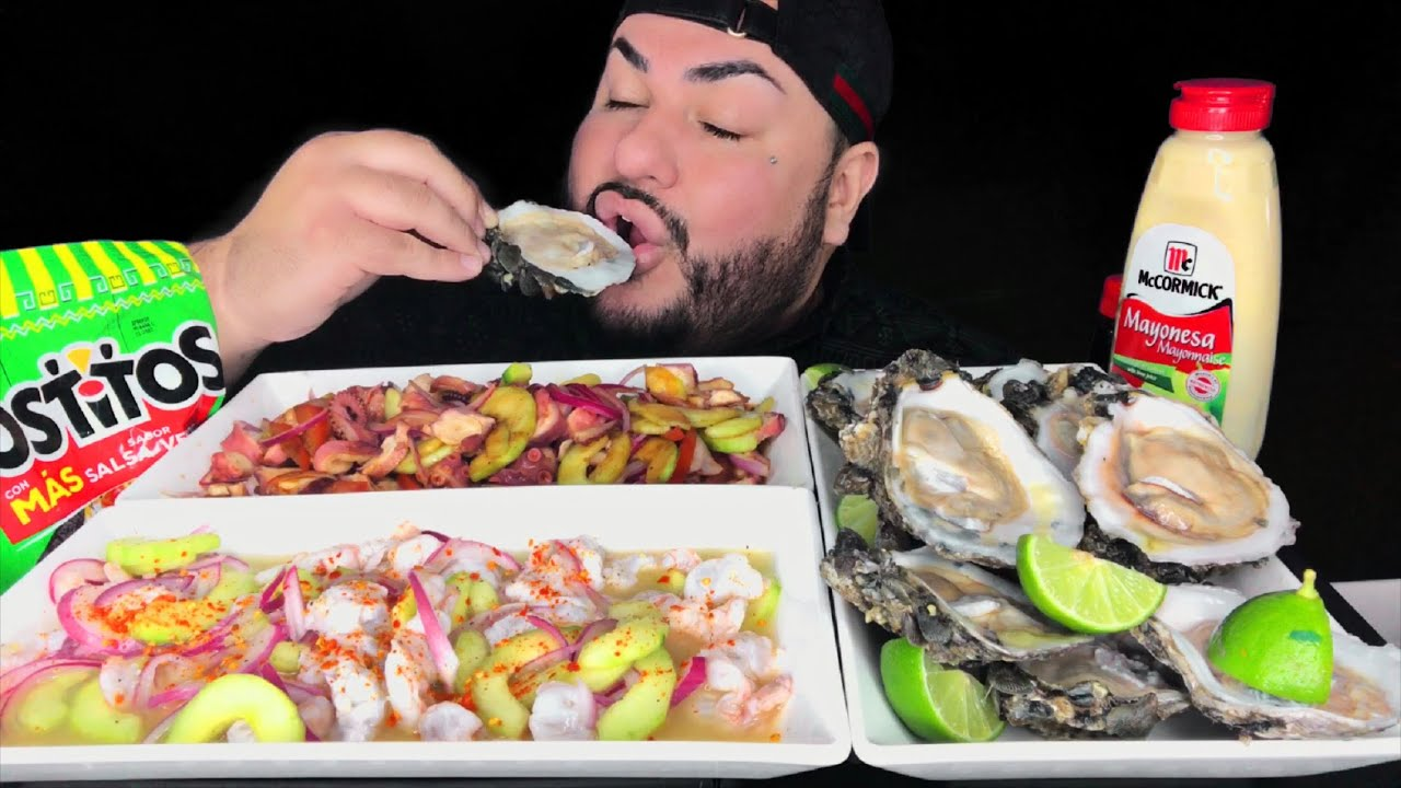 FRESH RAW OYSTERS & MARISCOS • I Almost Died Story Time
