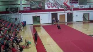 University Of  Louisville Tryouts Guys Tumbling