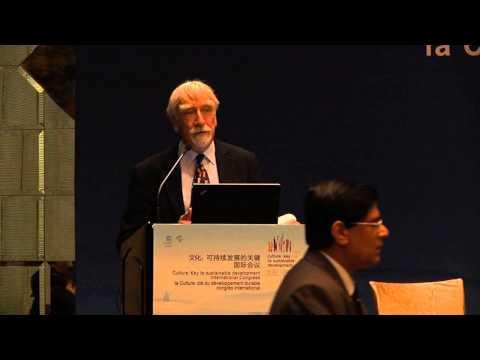 David Throsby, UNESCO Hangzhou Congress, Poverty Alleviation