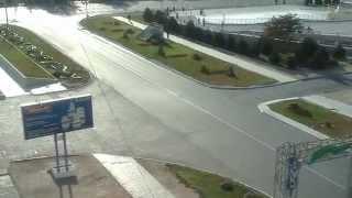 Кортеж Путина и Назарбаева в Актау Казахстан 1 октября