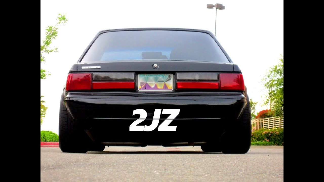 Used Mustang Parts >> 2JZ FOXBODY |BUILD THREAD| 2JZ MUSTANG SWAP - YouTube