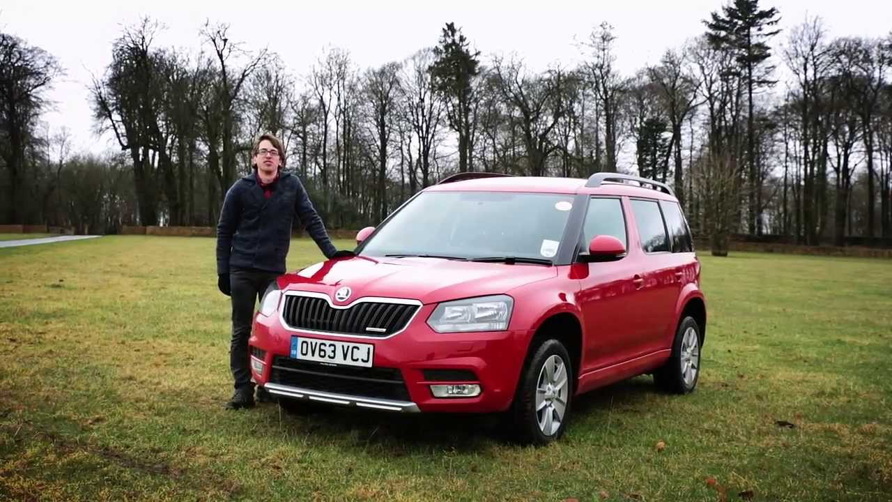 2014 skoda yeti which car first drive youtube. Black Bedroom Furniture Sets. Home Design Ideas