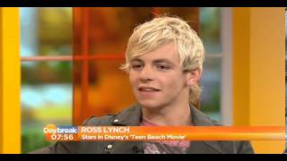 Ross Lynch on Daybreak 7/5/13