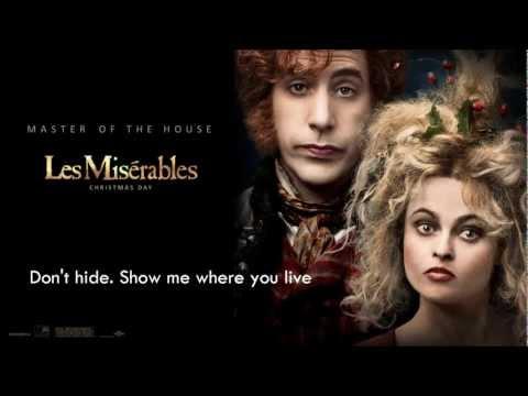 Les Misérables OST - The Bargain Lyrics