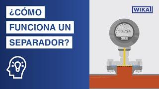 ¿Cómo funciona un separador? | Aplicaciones y ventajas en la medición de...
