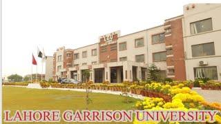 Lahore Garrison University Lgu  Documentary
