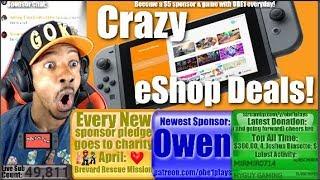 Crazy Nintendo Switch eShop Deals Right Now!