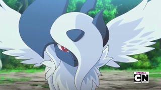 Pokemon XY Special - Mega Absol vs. Mega Charizard X - Full Fight HD