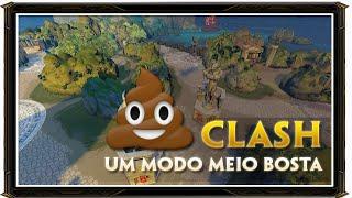 CLASH - Novo modo de jogo meio BOSTA! SMITE NEW MAP CLASH