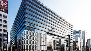 東京・銀座に今春誕生の大型複合施設公開=松坂屋跡地、屋上庭園や防災備蓄倉庫も