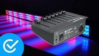 Unboxing SDC-6 DMX 6-Kanal DMX-Controller - Techcheck