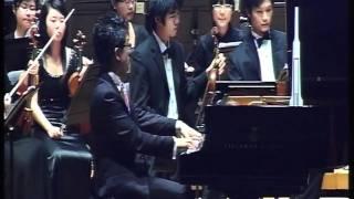 Rachmaninov Paganini Rhapsody - Intro to Var.15 Albert Tiu Ya-Hui Wang YST Orchestra
