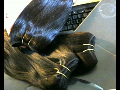 Brazilian Straight 10 inch hair  Ali Express!