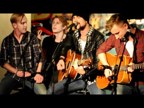 Royal Republic - All Because Of You 2010-10-15 (acoustic, Live @ Gillet, Uppsala)