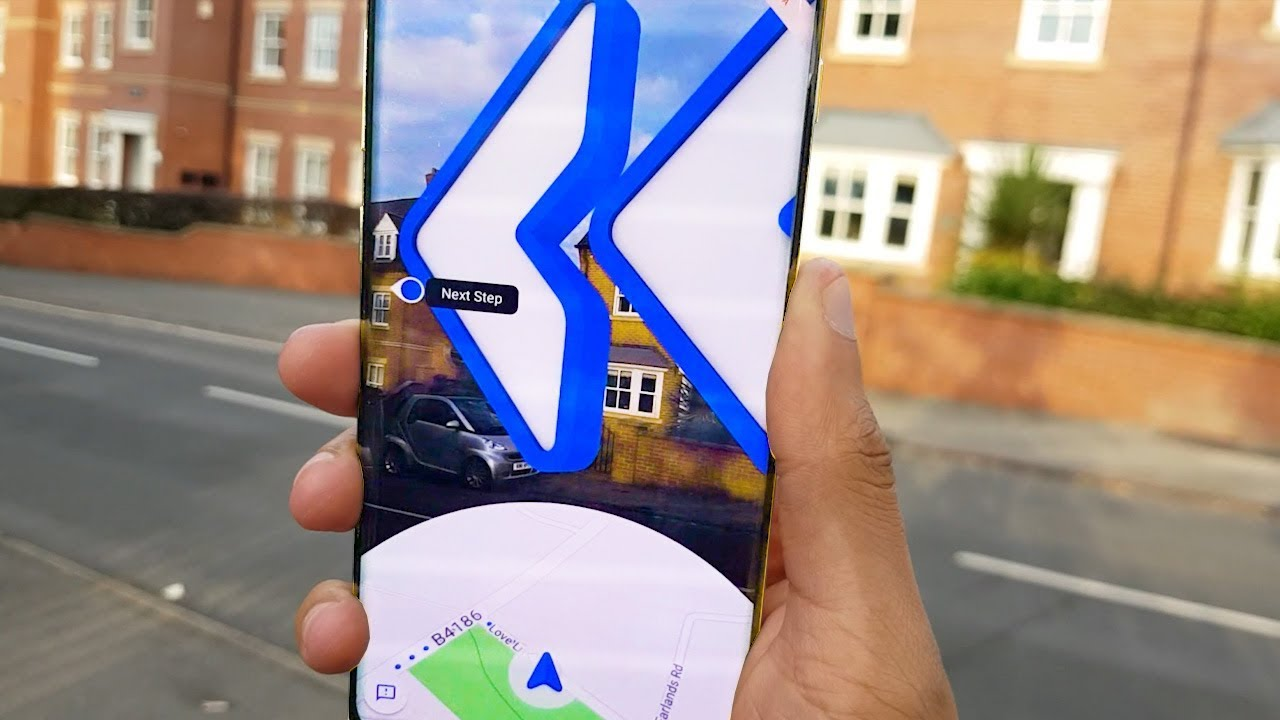 How To Use Google Maps Live View In Street View This Is So Cool Youtube
