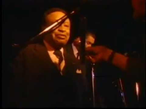Lionel Hampton onstage interview and jam