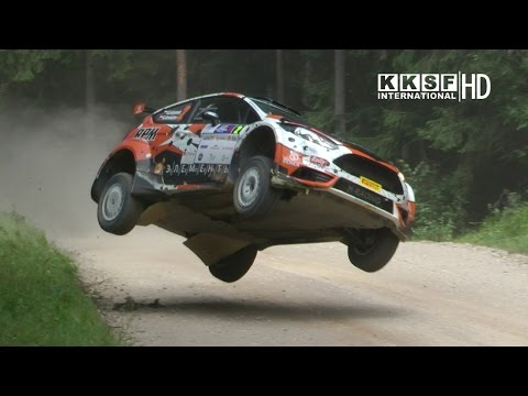 FIA ERC Rally Estonia 2016 - LUKYANUK'S CRAZY JUMP, mistakes, jumps