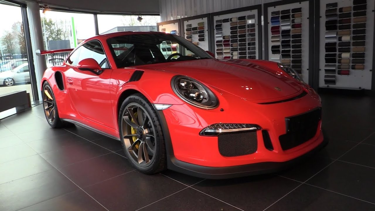 porsche 911 gt3 rs 2017 in depth review interior exterior. Black Bedroom Furniture Sets. Home Design Ideas