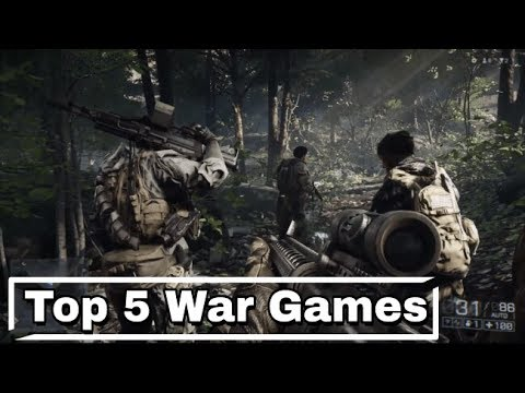 Top 5 Best Realistic War Games For Android.
