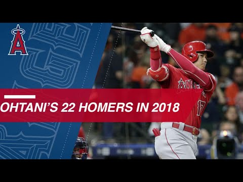 See all 22 of Shohei Ohtanis homers from 2018