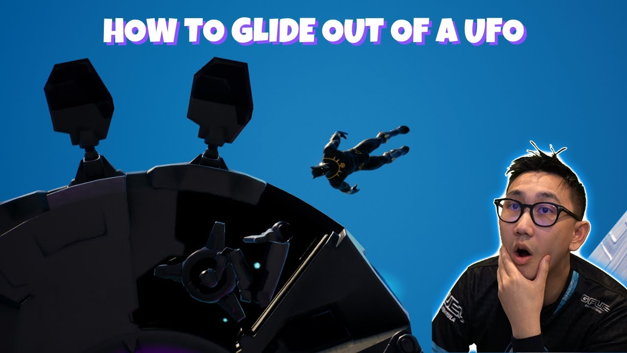 How to glide out of a UFO glitch (New Abductor ability)