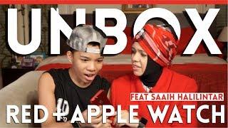 MomGen Unboxing iPhone7+RED&AppleWatch2-Ft Saaih Halilintar
