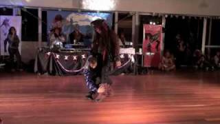 The Funniest Salsa Dance in History @ DouDouLe Latin Dance Camp 2010