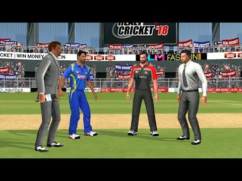 1st May IPL 11 Royal Challengers Bangalore Vs Mumbai Indians Real cricket 2018 mobile Gameplay - 동영상