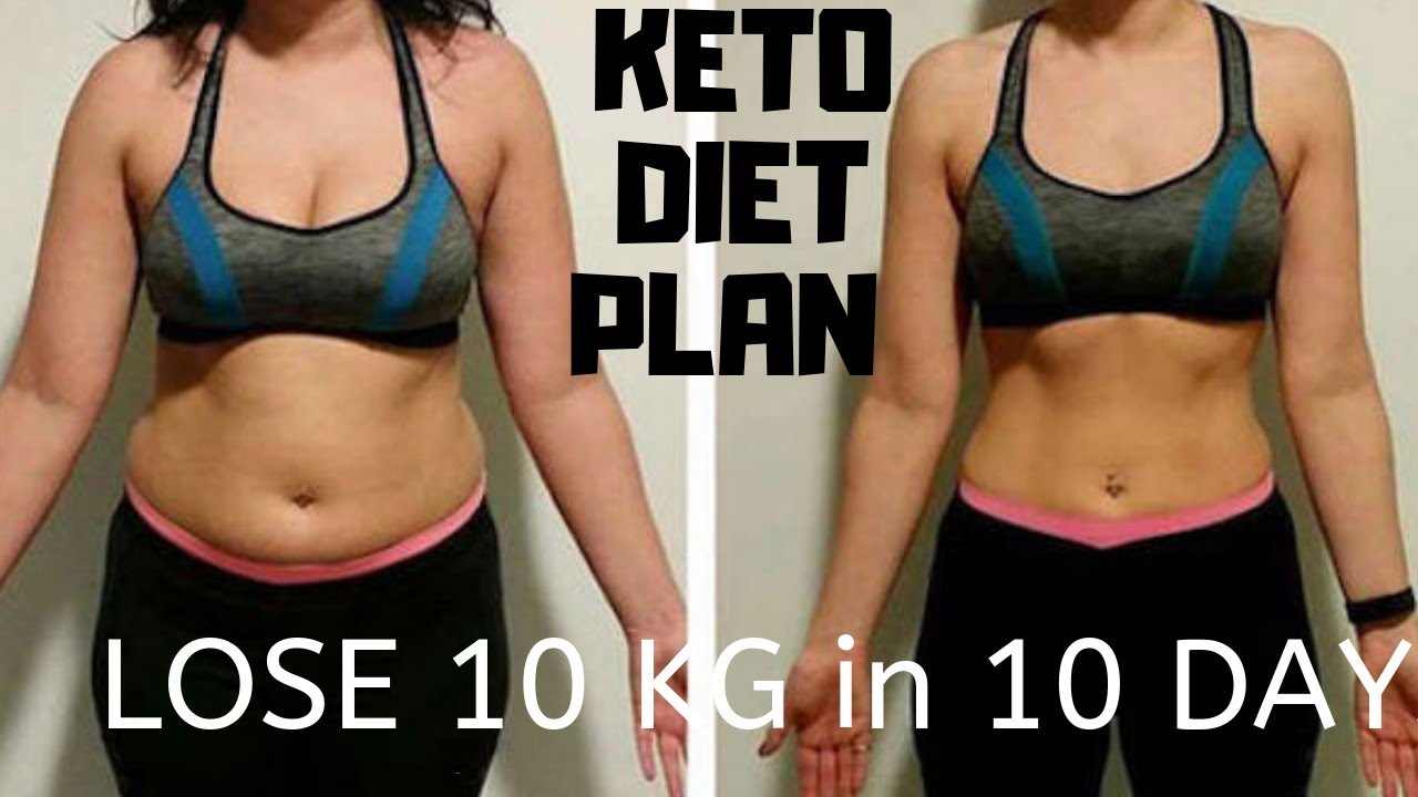 10 days keto diet results