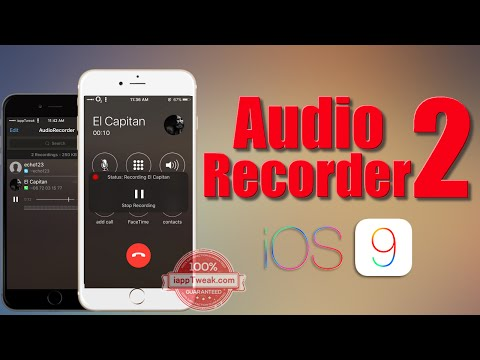 AudioRecorder 2 Tweak Lets You Record iPhone Calls and Any System Audio