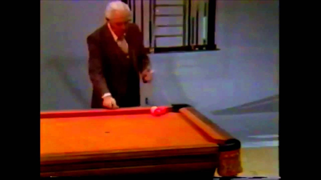 Willie Mosconi Pool Trick Shots YouTube - Mosconi pool table