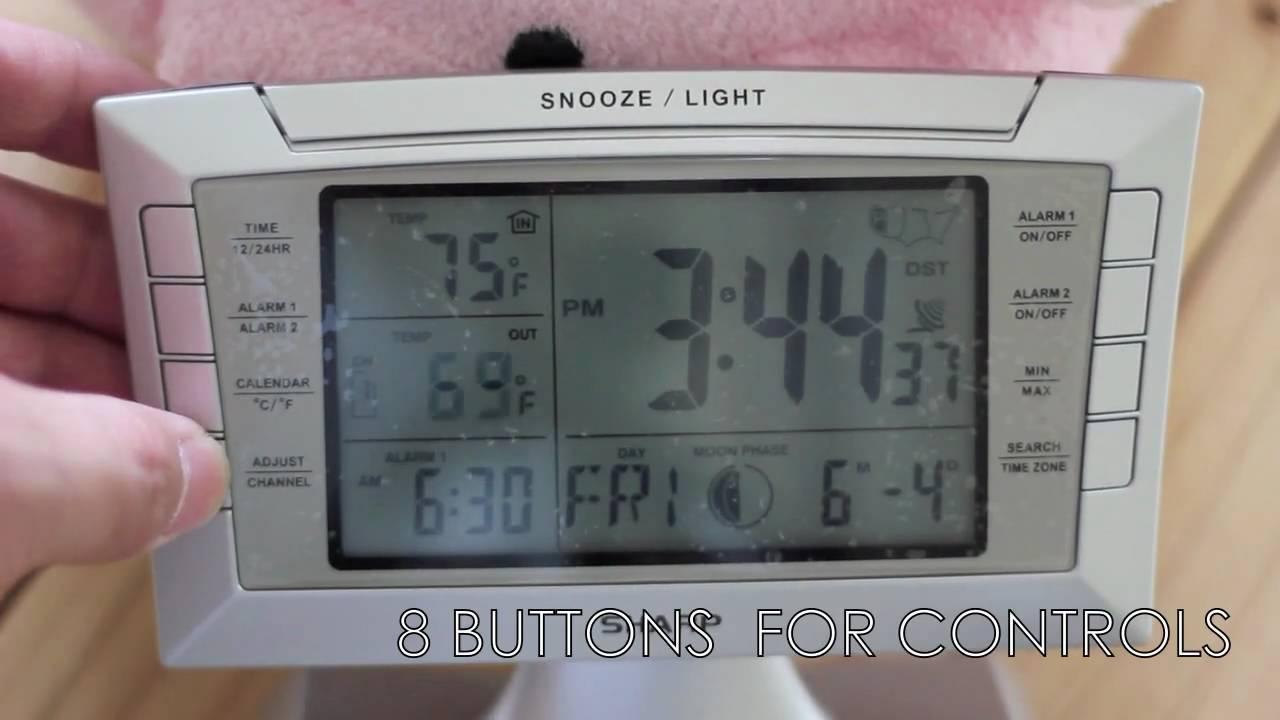 Sharp SPC 314 Alarm Clock