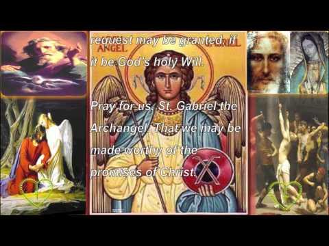 Prayer to St. Gabriel the Archangel