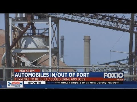 New port terminal in Mobile could lead to 600 jobs