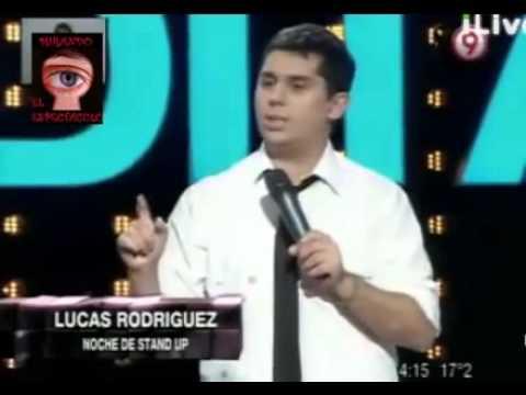 Bendita - Lucas Rodríguez con su mejor humor en la noche de stand up