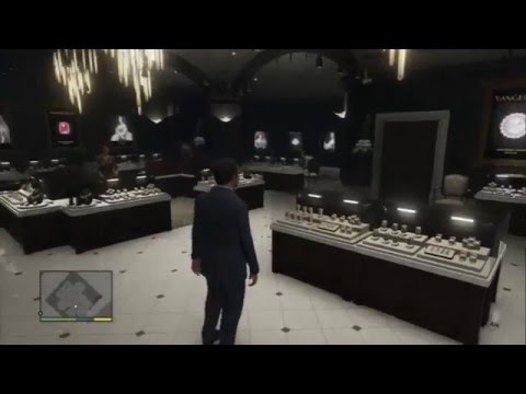Grand Theft Auto V - Casing The Jewel Store: Camera Glasses Recon Cameras, Roof, Keypad & Vents