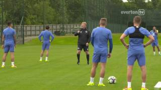 Watch some great behind the scenes footage from finch farm as new manager ronald koeman leads his first outdoor training session of pre-season.