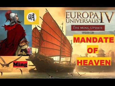 EU4--Mandate of Heaven--Ming--Timelapse(1444~1821)--Europa Universalis IV |