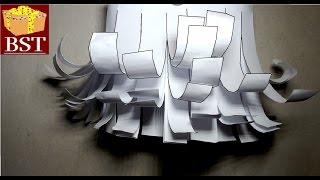 DIY Как сделать БОРОДУ своими руками из бумаги А4