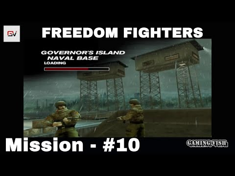 Freedom Fighters (Full HD) - PART 10 - Governor's Island - Naval Base, [PC 1080P][NO Commentary]