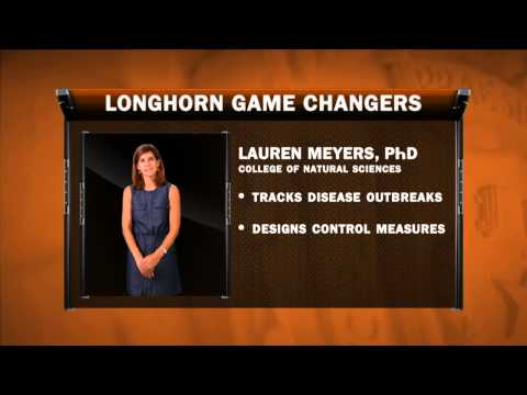 Longhorn Game Changers: Lauren Meyers, PhD
