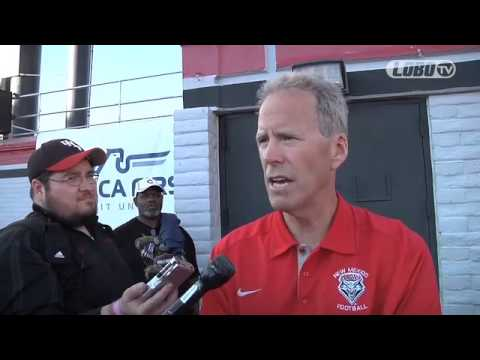 2012 Lobo Football | Coach Bob Davie: UNLV Post-Game Press Conference