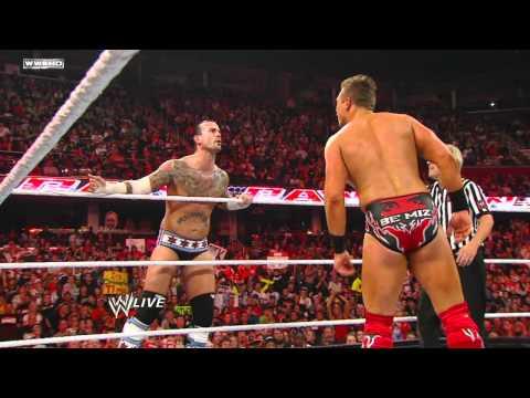 Raw - John Cena & CM Punk vs. The Miz & R-Truth