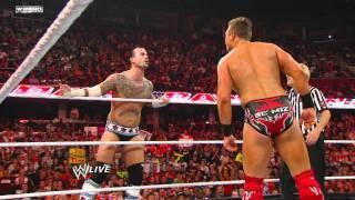 Raw: John Cena & CM Punk vs. The Miz & R-Truth.