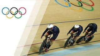 rio replay men s cycling track team sprint final