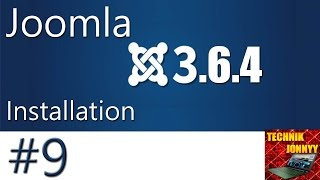 Joomla 3.6.4 Installation mit Xampp  - Tutorial [German] [HD] [#009]